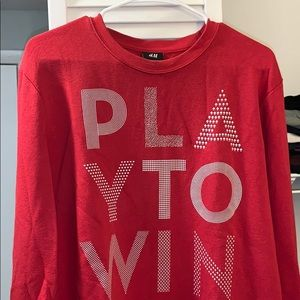 Play To Win Sweater